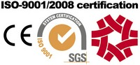 ISO-9001 certified, CE declare.