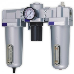 "1"" Air Preparation Units (Air Filter, Air Regulator, Lubricator)"