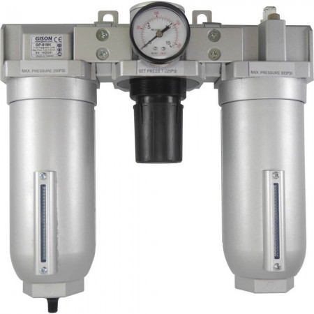 "3/4"" Air Preparation Units (Air Filter, Air Regulator, Lubricator)"