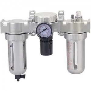 "3/8"" Air Preparation Units (Air Filter, Air Regulator, Lubricator)"