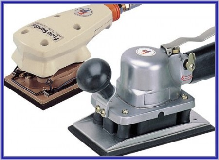 Air Jitterbug Sander (Square Type)