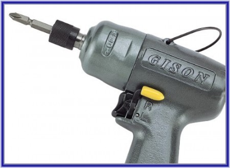 Air Angle Screwdriver (Impact Type)