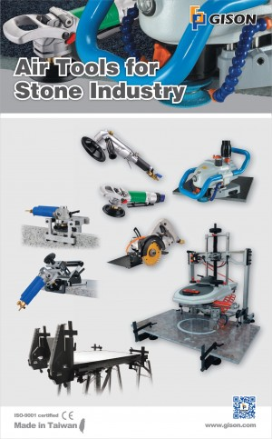 Wet Air Tools for Stone Industry