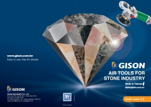 2013-2014 GISON Wet Air Tools for Stone,Marble,Granite Catalog