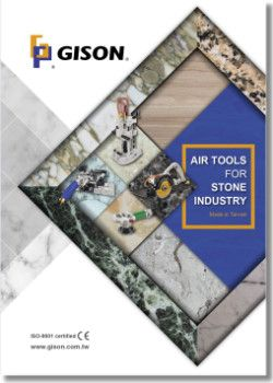 GISON Air Tools for Stone Industry (Masonry) Catalog Cover