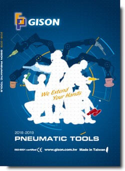 GISON Air Tools, Pneumatic Tools 2018-2019 Catalog Cover