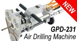 New Portable Air Drilling Machine (include Vacuum Suction Fixing Base)